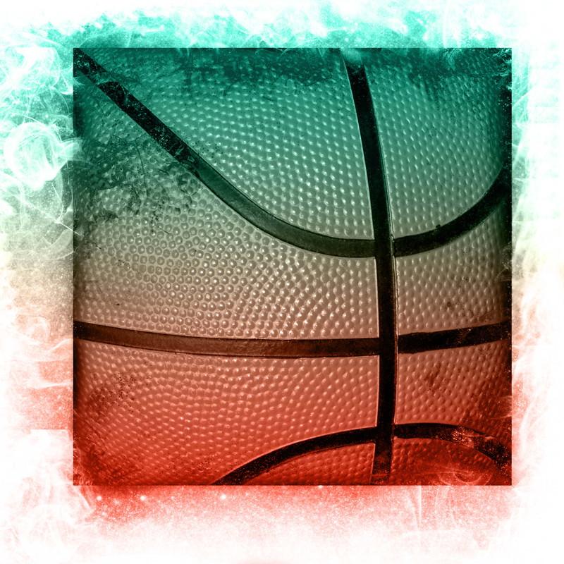 バスケットボール色