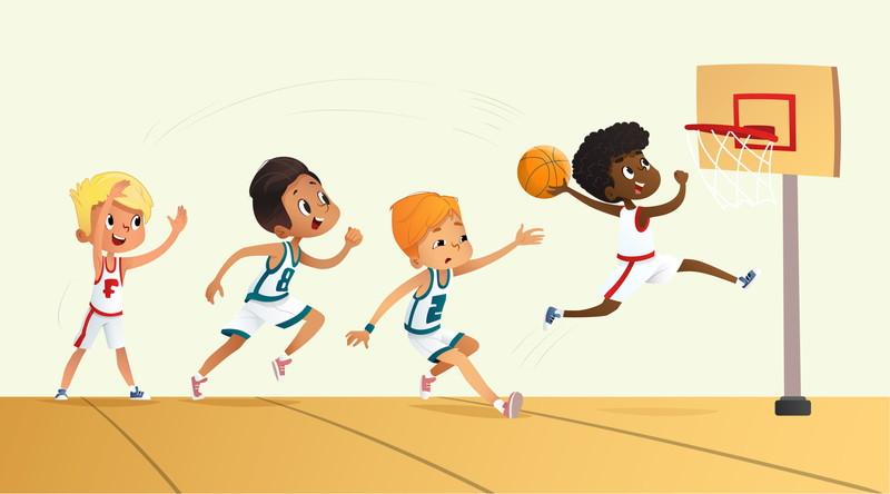 人気のバスケットボール